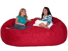 The Cozy Sack foam fill bean bag chair is the most comfortable place to sit anywhere. They are filled with the softest virgin urethane foam available. The urethane foam will spring back to normal size after every use and not go flat like the traditional bean bag chairs. The Cozy Sac foam chair will conform to you body like no other chair on the market. You can choose from 18 decorator colors...
