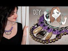 DIY Collar de moda con strass ¡Videotutorial! – Tu espacio creativo