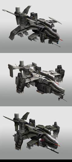 Gunships by StTheo.deviantart.com on @DeviantArt