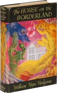 The House on the Borderland and Other Novels by William Hope Hodgson.. Sauk City: #Arkham House. 1946. First combined edition. Fine in a very lightly rubbed, fine dustwrapper. The jacket illustration is by Hannes Bok. Listed by Between the Covers- Rare Books, Inc. #ABAA