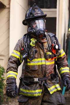 Coming out of the fire Firefighter Tools, Firefighter Apparel, Firefighter Workout, Firefighter Training, Firefighter Family, Firefighter Quotes, Volunteer Firefighter, Firefighters, Volunteer Gifts
