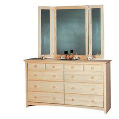 Inwood Shaker 10 Drawer Dresser