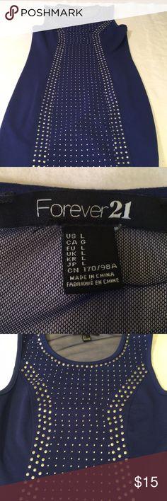 Spotted while shopping on Poshmark: Forever 21 ladies large blue dress! Plus Fashion, Fashion Tips, Fashion Design, Fashion Trends, Forever 21 Dresses, Blue Dresses, Embellishments, Environment, Mesh