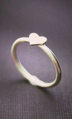 Sterling Silver Heart Ring 925 Sterling Silver