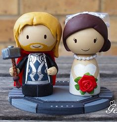 Another cute thor cake topper  thor-groom-wedding-cake-topper-genefy-02