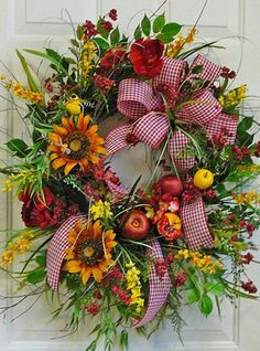 7.Fruit Wreath