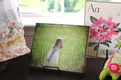 I have a few canvas photos that I love.  These instructions are simple and the result is a gorgeous, inexpensive canvas photo.  Great gift idea, too.