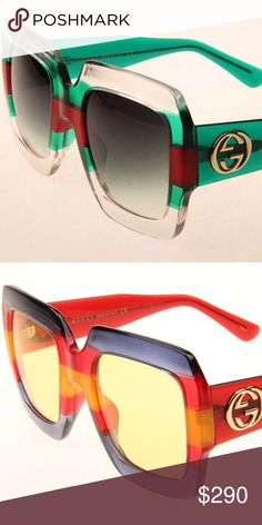 2ad19c79cf77 GUCCI SUNGLASSES AUTHINTIC NEW 2017 18 COLLECTION  GUCCI Accessories Glasses  - Sale! Up