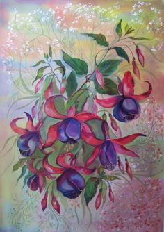 Gallery.ru / Фото #9 - Фуксия: цветы и не только они - Anneta2012