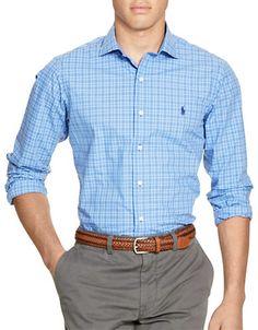POLO RALPH LAUREN Polo Ralph LaurenChecked Estate Shirt. #poloralphlauren #cloth #