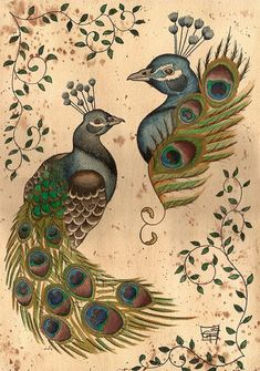 Artist: Scarlet-Hel   ~   Image Title: Peacock Flash Sheet