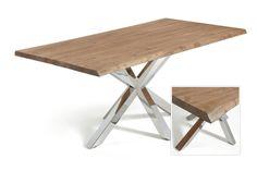Spisebord modell ARAY. www.mirame.no #bord #spisestue #stue #spisebord #gang #kjøkken #kjøkkenbord #innredning #møbler #norskehjem #mirame #pris  #interior #interiør #design #nordiskehjem #vakrehjem #nordiskdesign  #oslo #norge #norsk  #tre #metall #rom123 #krom