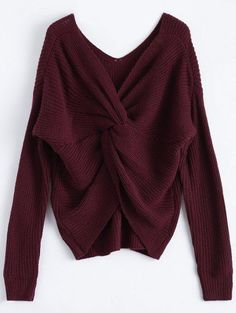 GET $50 NOW | Join Zaful: Get YOUR $50 NOW!https://m.zaful.com/v-neck-twisted-back-sweater-p_250474.html?seid=dgb90kvcr6p7oodlvf69hq5ac2zf250474
