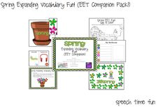 "It is finally here!! My spring EET companion pack!!<br /> <div class=""separator"" style=""clear: both; text-align: center;""> <a href=""http://speechtimefun ..."