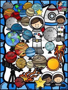 Space Clipart Bundle