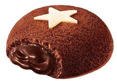 TENDENZE E TENTAZIONI: MOON CAKE PAN DI STELLE RIPIENI DI NUTELLA