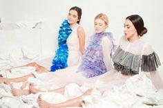 Giulia Tano 2014 plastic experiment - graduation collection