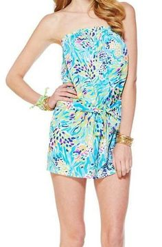 Lilly Pulitzer Colleen Pull-On Romper