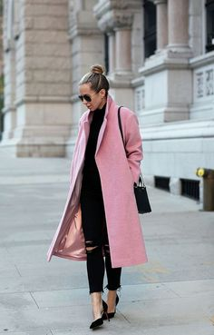 Pink & Black, Chic Style.