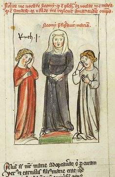 Speculum humanae salvationis, MS M.140 fol. 29r - Images from Medieval and Renaissance Manuscripts - The Morgan Library & Museum