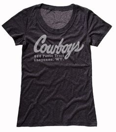 This tee, with it's classic Cowboys logo, will never go out of style. Going Out, T Shirts For Women, Cool Stuff, Tees, Cotton, Mens Tops, Collection, Style, Fashion