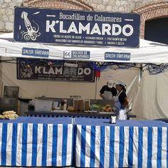 Kalamardo se independizo de las cangreburger en España  #matadero #foodtruck #madrid #madridmemola