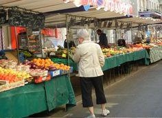 Markets of Paris.