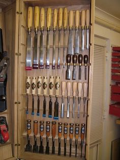 WoodNet Forums: Show me your tool cabinet