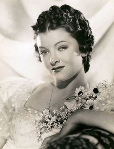 Myrna Loy by Clarence Sinclair Bull | Chickeyonthego | Flickr
