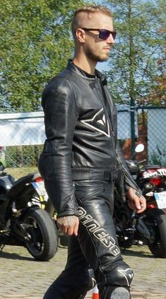 Motorcycle Wear, Motorcycle Leather, Biker Leather, Leather Cap, Leather Pants, Black Leather, Motocross Outfits, Motorbike Leathers, Riders On The Storm