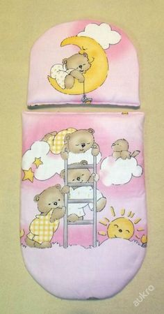 Peřinky do kočárku pro panenky Medvídci na že (6103291023) - Aukro - největší obchodní portál