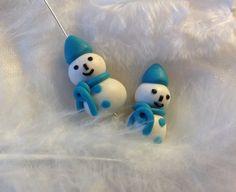 Bonhomme de Neige 3D Noel pendentif de noel par DBillesentiti