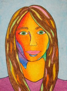 Middle Schoolers are awkward. I think that's one of the reasons that anytime a self-portrait is mentioned they groan obnoxiously and throw t...