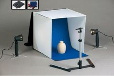 "Idirectmart Photo Tent Table Top Studio Light Photography Soft Box Kit - Size 19.5"" Cube"