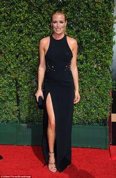 Pregnant Cat Deeley hits the red carpet with Patrick Kielty at Creative Arts Emmy Awards | Daily Mail Online