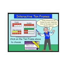 Here's a SMARTBoard activity that incorporates interactive ten frames. Click on the frame or frame marker and the marker will appear, disappear, or change color.