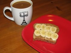 Banana Almond Toast, only 200 calories « Lose Weight by Eating!
