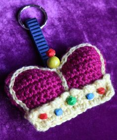Key chain crown