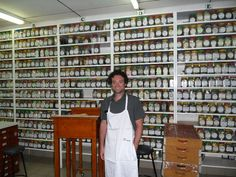 Third Street's Director of Operations, Dylan Barbarisi, ready to cup tea at Stassen headquarters. Colombo, Sri Lanka.