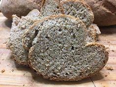 Kovászos rozskenyér Pan Bread, Food, Essen, Meals, Yemek, Eten