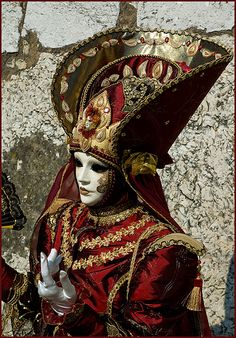 """""""Russian Mask"""", Carnival of Annecy, 2008 ~ photo by simply lianne"""