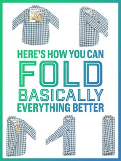 13 GIFs That Prove You've Been Folding Everything Wrong - Here's How You Can Fold Basically Everything Better