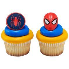 Moule silicone Spiderman Marvel Superhero Glaçage Gâteau carte topper fimo