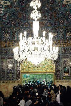 Hatam Khani Porch,Imam Reza shrine, Mashhad, Iran (Islamic Art)