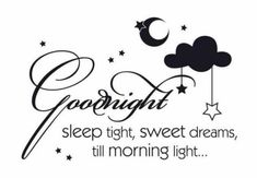Love & Inspirational good night Quotes
