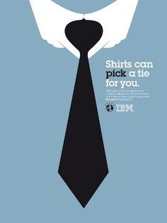 よーく探すと何かが見える!? IBMのミニマムデザインなポスター10選 004