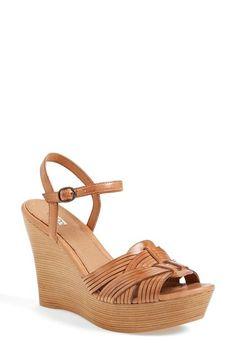 UGG® Australia 'Allvey' Platform Wedge Sandal (Women) available at #Nordstrom