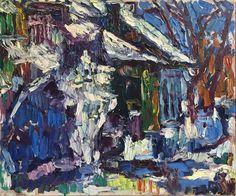 Iarnă în București – Virgiliu Parghel  2,500.00lei