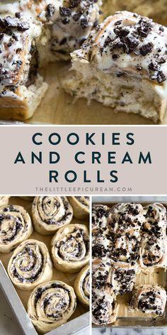 Fun Desserts, Delicious Desserts, Dessert Recipes, Yummy Food, Yummy Snacks, Yummy Treats, Best Cinnamon Rolls, Homemade Cinnamon Rolls, Cinnamon Roll Bread