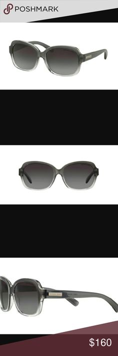 Michsel Kors sunglasses Brand new M.K. sunnies prefect four everyday, they look great on any face shape are super comfortable and just the right amount of classy and sassy. Two toned black and clear frame, too half black bottom half clear with rectangular gray polarized lenses. As on the side of each table they say Michael Kors. Brand new never worn tags still in. Tact, comes with authentic case cleaning cloth and proof of. Michael Kors Accessories Glasses